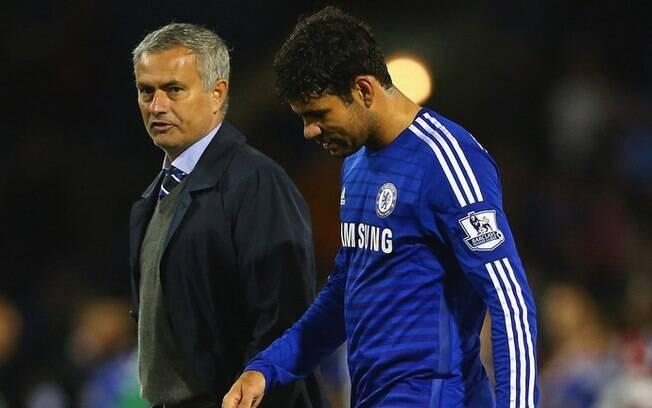 Diego Costa contou que escolha de jogar no Chelsea teve influência de José Mourinho