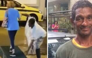 Guardador de carros ganha casa após ajudar senhora em temporal