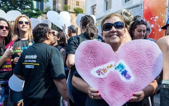 Maju Giorgi, do grupo Mães Pela Igualdade
