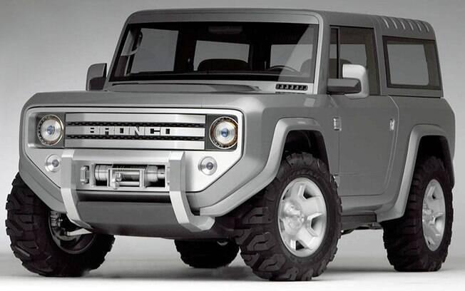 Ford Bronco conceitual poderá servir de base para o novo SUV compacto que está previsto para chegar em 2020