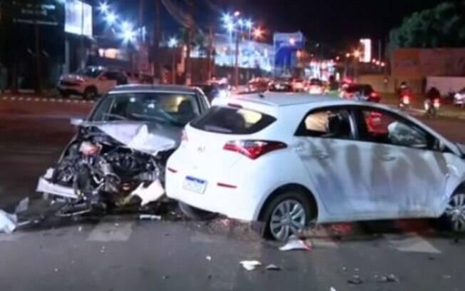 Após perseguição, carro roubado causa acidente na estrada da Rhodia, em Campinas