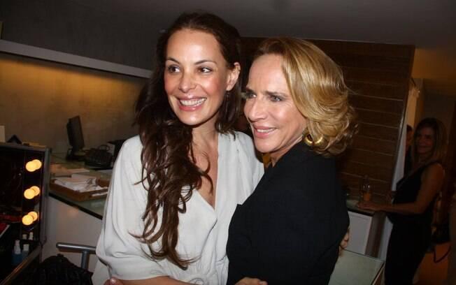 Carolina Ferraz e Lenny Niemeyer