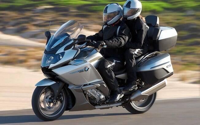 BMW K 1600 GTL: A BMW cara mais em conta que você pode comprar e vem com uma série de recursos eletrônicos