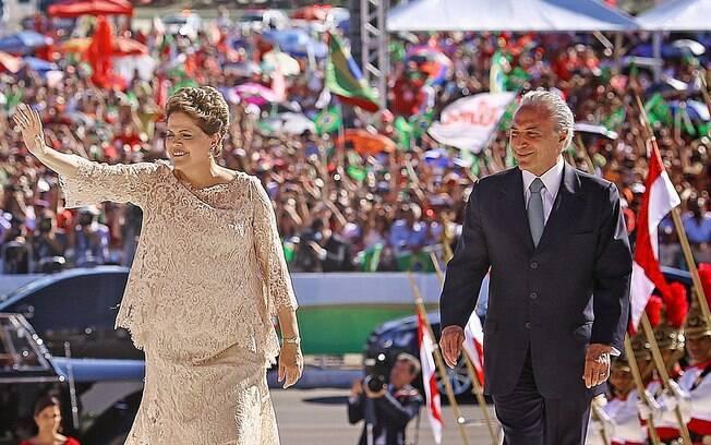 Segunda cerimônia de posse de Dilma Rousseff, em 2015