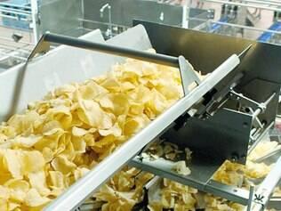 Lay's.  PepsiCo relançou as batatinhas no Brasil e, na planta de Sete Lagoas, 10% da produção é exclusivamente deste salgadinho