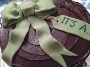 Cupcake vai revelar se será menino ou menina de acordo com o recheio, rosa ou azul