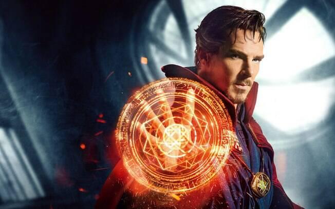 Benedict Cumberbatch em ''Doutor Estranho''