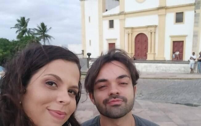 Primeiro encontro de Débora Leão e Caio Samura foi em 8 de março, antes da pandemia, no Alto da Sé, em Olinda