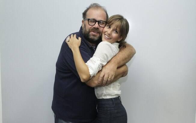Otávio Muller e Fernanda de Freitas