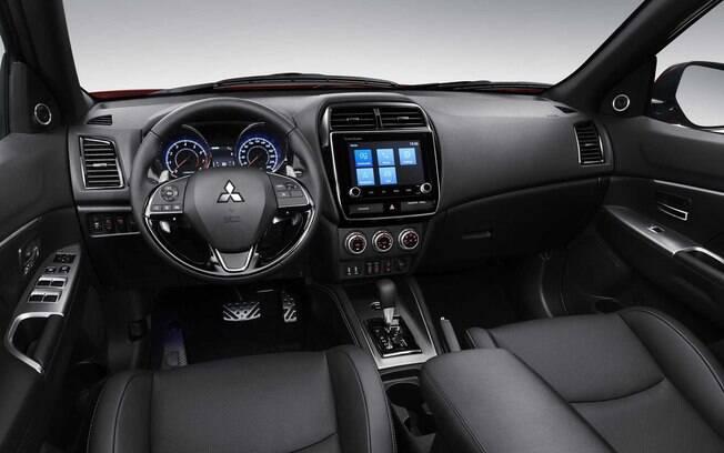 Mitsubishi ASX 2020 teve apenas a inclusão de uma nova central multimídia entre as mudanças adotadas por dentro