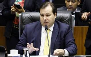 Maia defende uso de fundo da Petrobras para combater queimadas