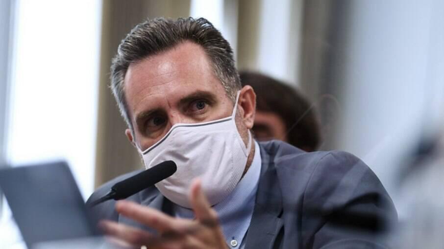 Luiz Paulo Dominguetti na CPI da Covid