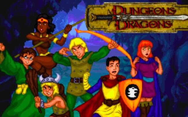 Caverna do Dragão vira jogo de PC grátis criado por brasileiro