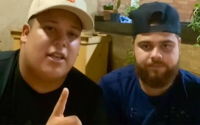 Pedro Motta e Henrique são acusados de transfobia por música que falam que foram enganados por travesti