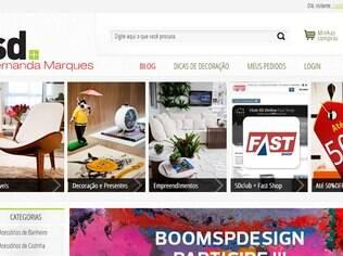 As peças à venda na SD Online tem o crivo da arquiteta Fernanda Marques