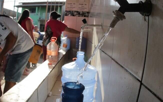 Cinco bairros de Campinas ficam sem água nesta quarta-feira