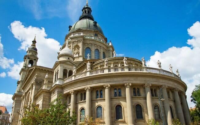 A Basílica é outro lugar que não pode faltar em um roteiro para Budapeste, também com vista panorâmica para a cidade
