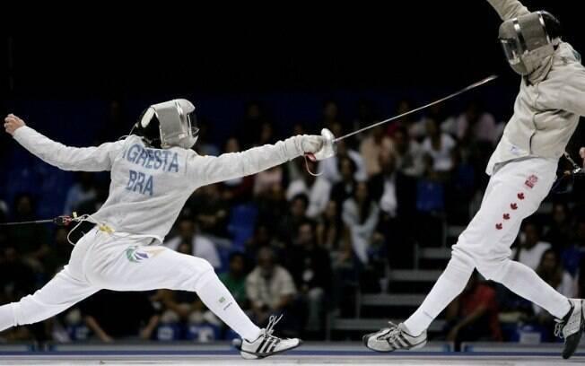 Renzo Agresta representará o Brasil na esgrima, na prova de sabre masculino