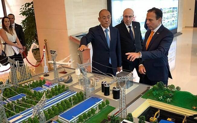 João Doria está na China em busca de parcerias