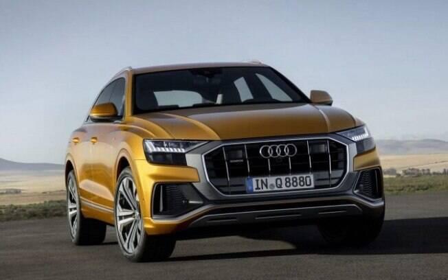 Audi Q8: SUV carrega os adereços da nova geração da linha Q, bem como a maior quantidade de tecnologia e luxo da marca