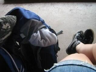 Para facilitar sua viagem, leve pouca bagagem