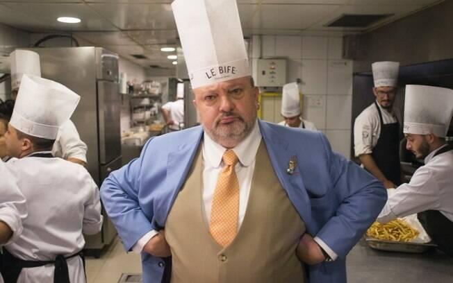 O chef está com covid-19