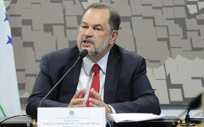 Embaixador do Brasil no Líbano, Paulo Cordeiro de Andrade Pinto, morreu nesta quarta-feira