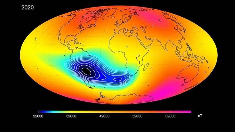 Fenômeno vai da região sul da América até a África