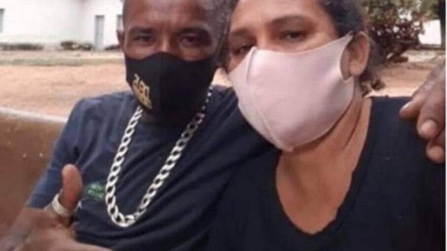 Simone vítima de feminicídio cometido por Ismael, seu companheiro