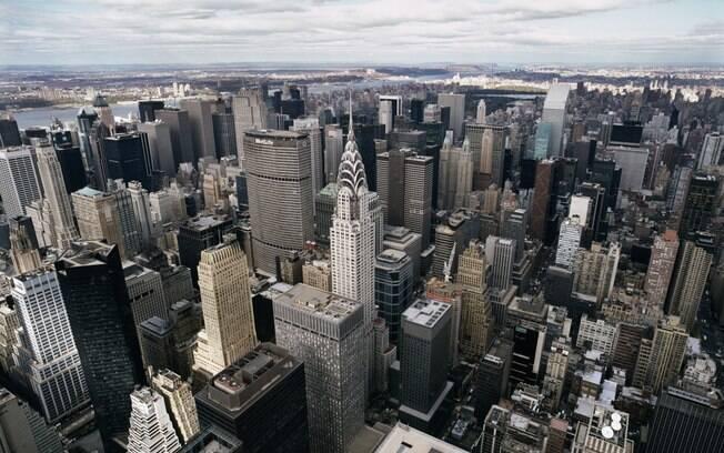 Vista de Nova York a partir do Empire State Building