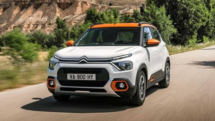 Citroën C3 2022: o hatch virou SUV para tentar a ajudar a marca francesa se reerguer no Brasil a partir do ano que vem