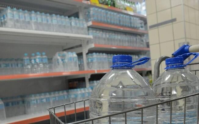 Procura de água mineral aumentou no Rio de Janeiro