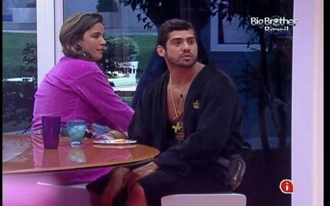 Yuri conta para Jonas e Fael sobre festa fechada só para convidados que costuma acontecer em Goiás