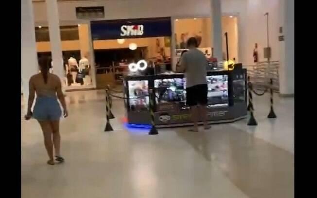 Shopping de Campinas abre durante a fase vermelha