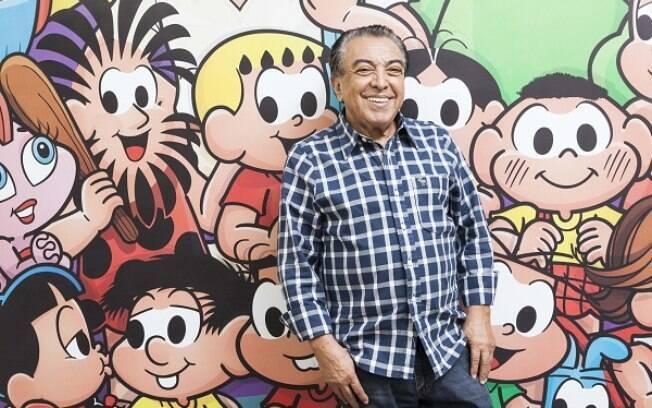 Mauricio de Sousa abre coração sobre início e auge da carreira, e o universo da