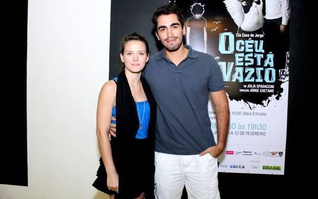 Bianca Bin com o namorado, Pedro Brandão