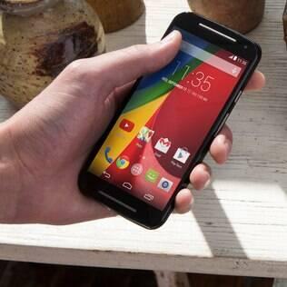 Moto G 2ª geração tem câmera de 8 MP e filma em alta definição (720p)