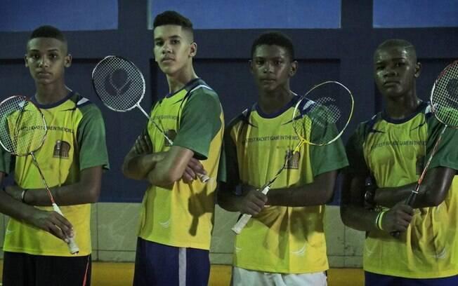 Badminton tomou conta da comunidade da Chacrinha