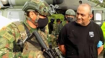Dairo 'Otoniel', traficante mais procurado da Colômbia, é preso