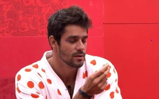 Diego conversa com Cássio sobre possibilidades do Paredão