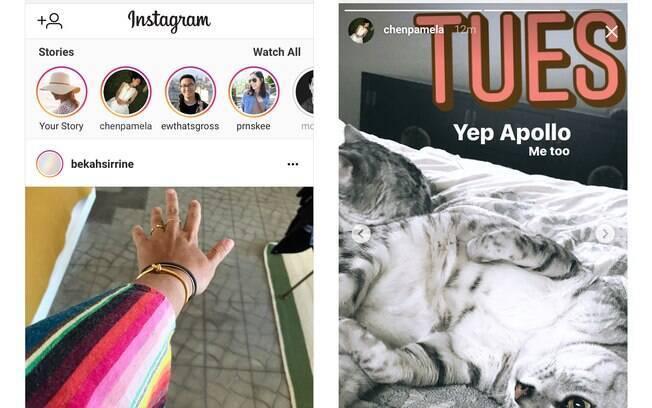 Instagram.com tem recurso que permite usuário a ter acesso ao Stories