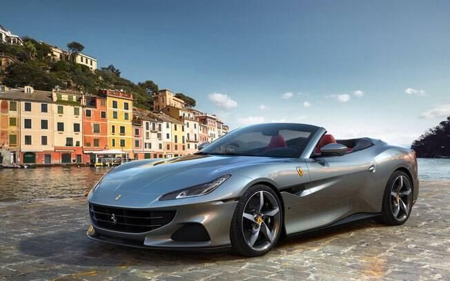 Ferrari Portofino M muda por fora e ganha o motor 3.9 V8 da Roma. Entre os novos detalhes, apenas retoques na dianteira