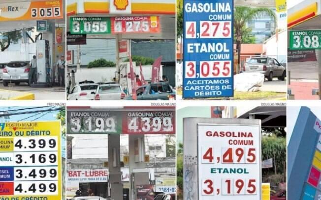 Cada vez mais os preços dos combustíveis inviabilizam o uso dos automóveis