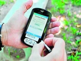 Saúde.  Com o novo dispositivo adquirido, os agentes da dengue serão monitorados em tempo real