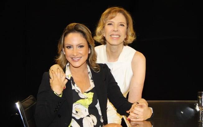 Claudia Leitte é entrevistada por Marília Gabriela