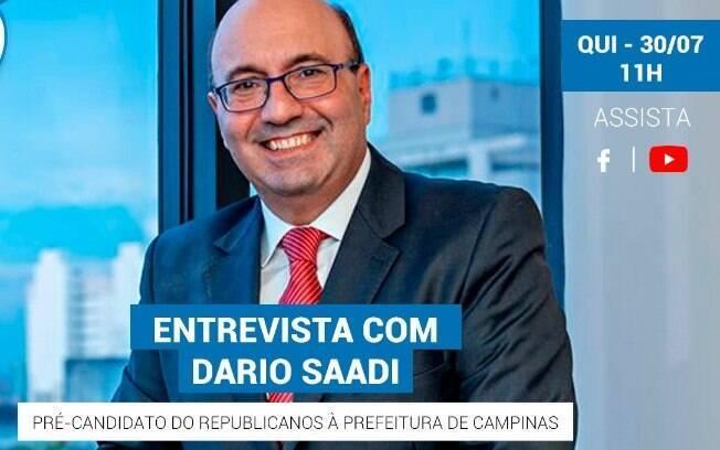 Dario Saadi conversa com o iG nesta quinta-feira (30).