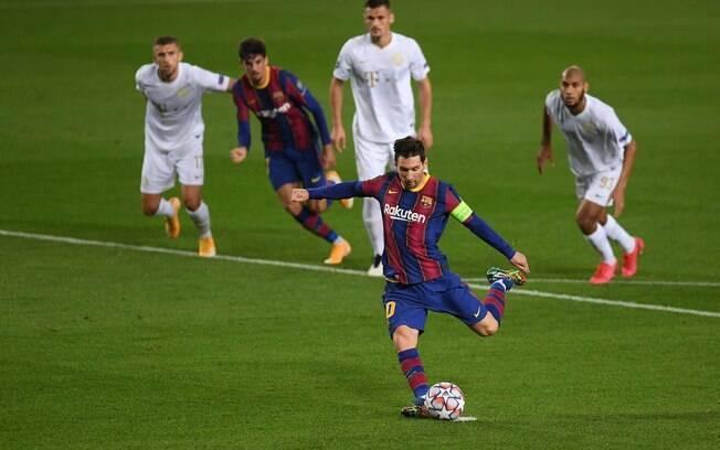Messi estará em campo contra a Juventus nesta quarta-feira