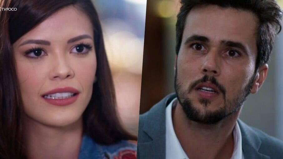 Kyra tenta fugir do noivo Rafael em Salve-se Quem Puder