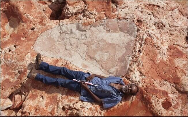 Apesar de ser impressionante, o rastro gigante do dinossauro é apenas parte de uma série de descobertas feitas na Austrália