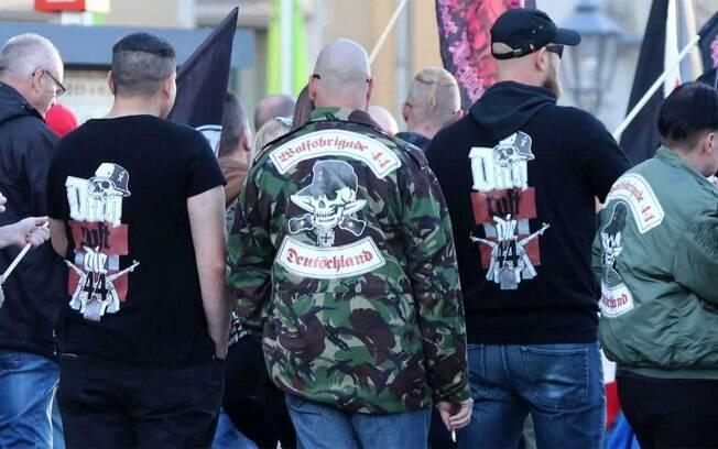 Grupo neonazista Sturmbrigade 44 foi banido do país por promover o ódio